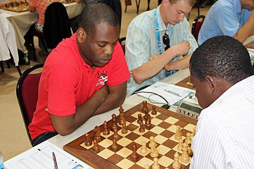 GM Pontus Carlsson (Sweden) vs. Adeyinka Adesina (Nigeria)