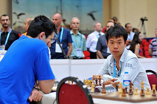 Russia vs. China vs. Ukraine, 3-1