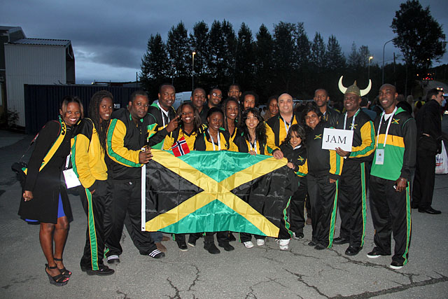 Delegation from Jamaica.