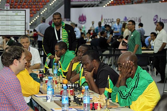 Jamaica vs. South Africa (open)