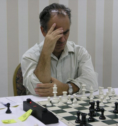 GM Gildardo Garcia of Columbia. Photo by Daaim Shabazz.