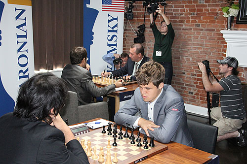 Dirk Jan capturing the action. Sinquefield coverage coming!