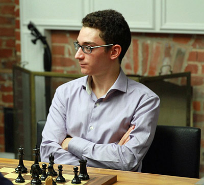 Fabiano Caruana started with a blistering 7/7 last year enroute to an impression win, but the star-studded field will certainly be ready to take the mantle away. Photo by uschesschamps.com.
