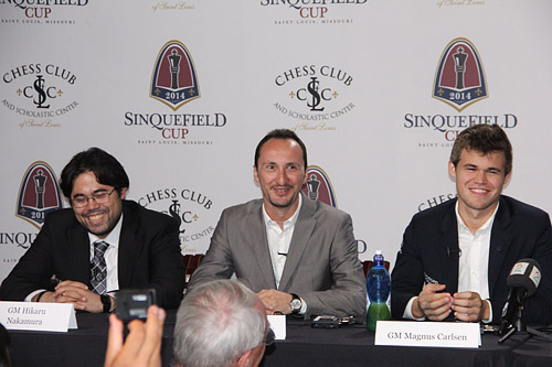 There were a few light moments during the final press conference.