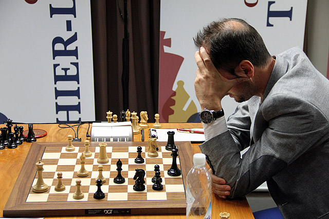 What has happened to Veselin Topalov? Photo by Daaim Shabazz.