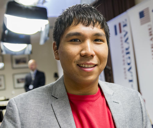 Wesley So got his first win in the tournament!