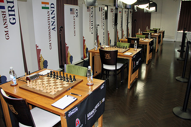 Battlefield for 2015 Sinquefield Cup. Photo by Daaim Shabazz.