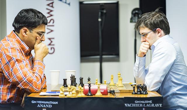 MVL vs. Viswanathan Anand in a slugfest