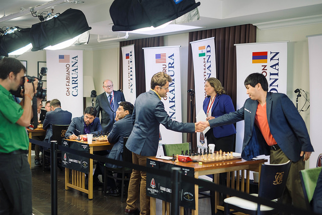 Levon Aronian vs. Wesley So