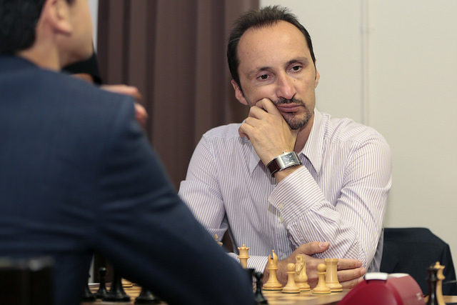 Topalov lost his lead today after falling to Wesley So.