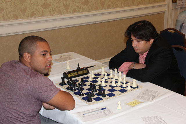 GM Isan Ortiz Suarez vs. GM Julio Becerra