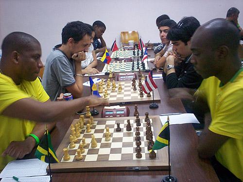 FM Jomo Pitterson (Jamaica) and FM Warren Elliott (Jamaica)