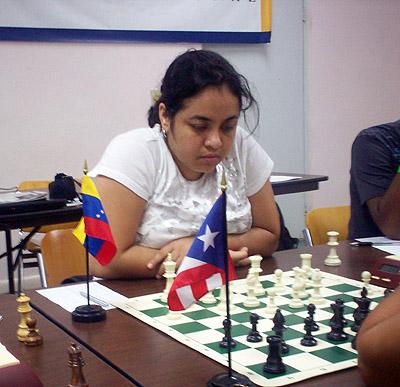 WGM Serai Sanchez Castillo (Venezuela)