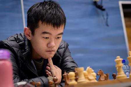 GM Ding Liren. Photo by Alina L'Ami.