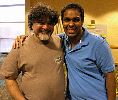 FMs Sunil Weeramantry and Kazim Gulamali