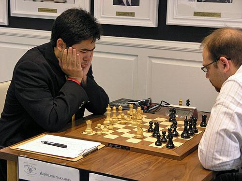 Hikaru Nakamura vs. Josh Friedel (1-0)