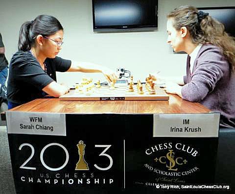 WFM Sarah Chiang vs. IM Irina Krush.