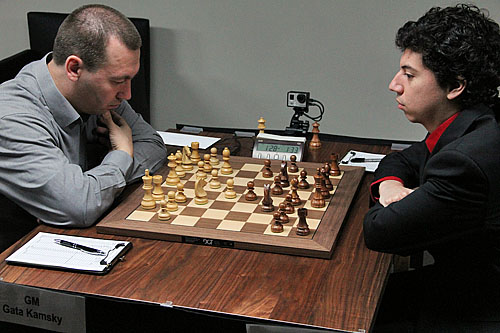 Gata Kamsky was unable to overcome Alejandro Ramirez.