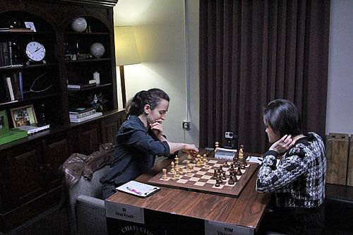 IM Irina Krush vs. WIM Viktorija Ni, 1-0