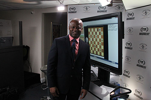 GM Maurice Ashley did an excellent job with on the spot analysis.