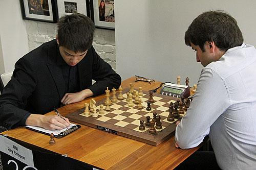 GM Ray Robson vs. GM Yury Shulman, 1-0.