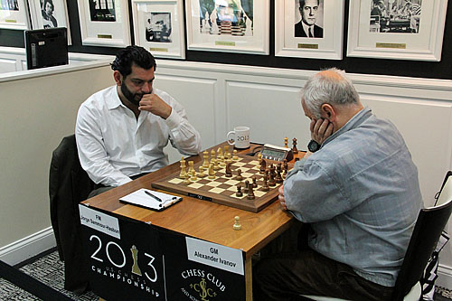 FM Jorge Sammour-Hasbun vs. GM Alexander Ivanov