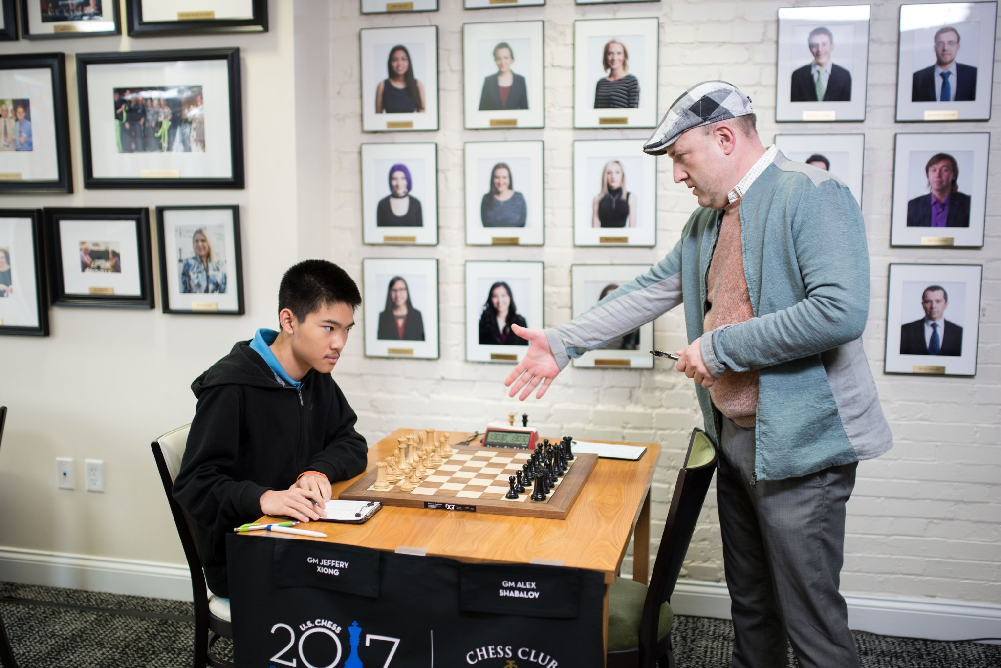 At the 2003 U.S. Championship, Alexander Shabalov made a bold prediction that Hikaru Nakamura was going to be a future champion. Photo by CCSCSL