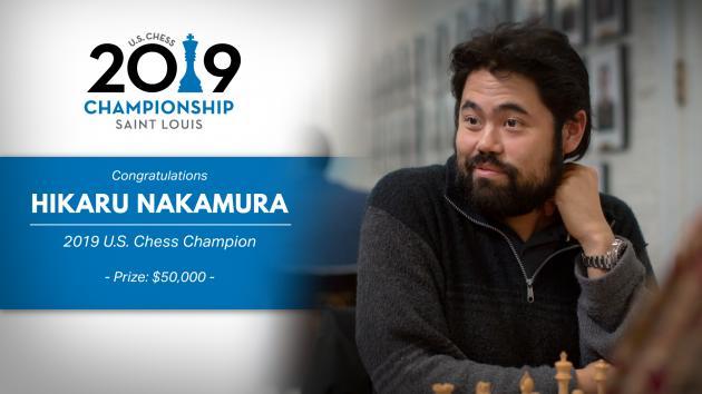 Jennifer Yu, 2019 Champion. Photo by Lennart Ootes/Saint Louis Chess Club.