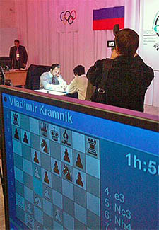Topalov and Kramnik are unaware of another battle brewing.