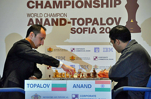 Veselin Topalov and Viswanathan Anand begin the 2010 World Championship.