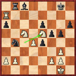 Gelfand-Anand (game 7 after 31.Ne5)
