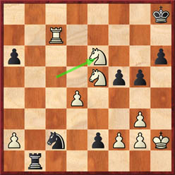 Gelfand-Anand (game 7 after 38.Nxe6)