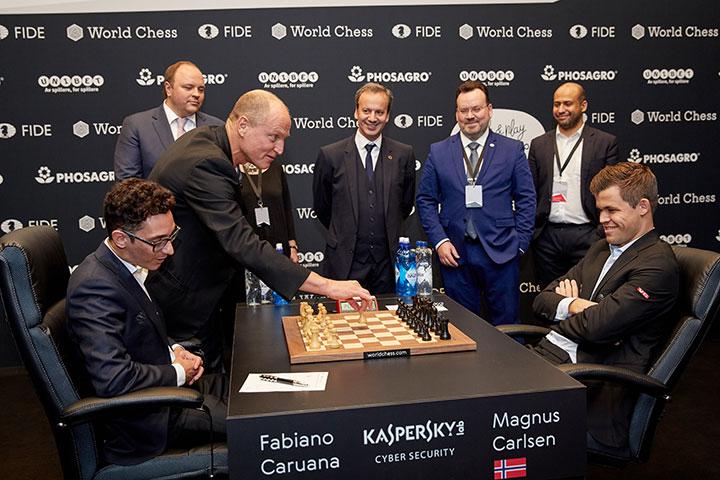 2018 World Chess Championship (Carlsen vs  Caruana) - The Chess Drum
