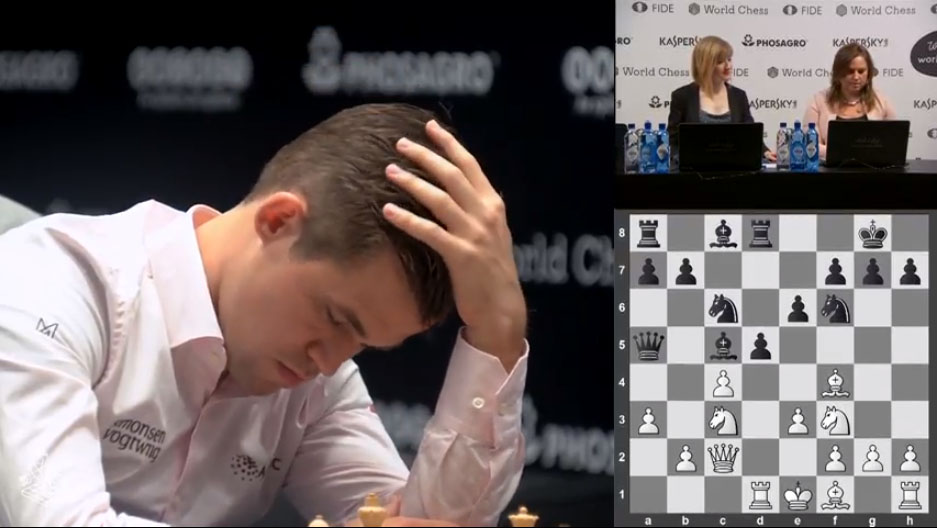 2018 World Chess Championship (Carlsen vs  Caruana) - The