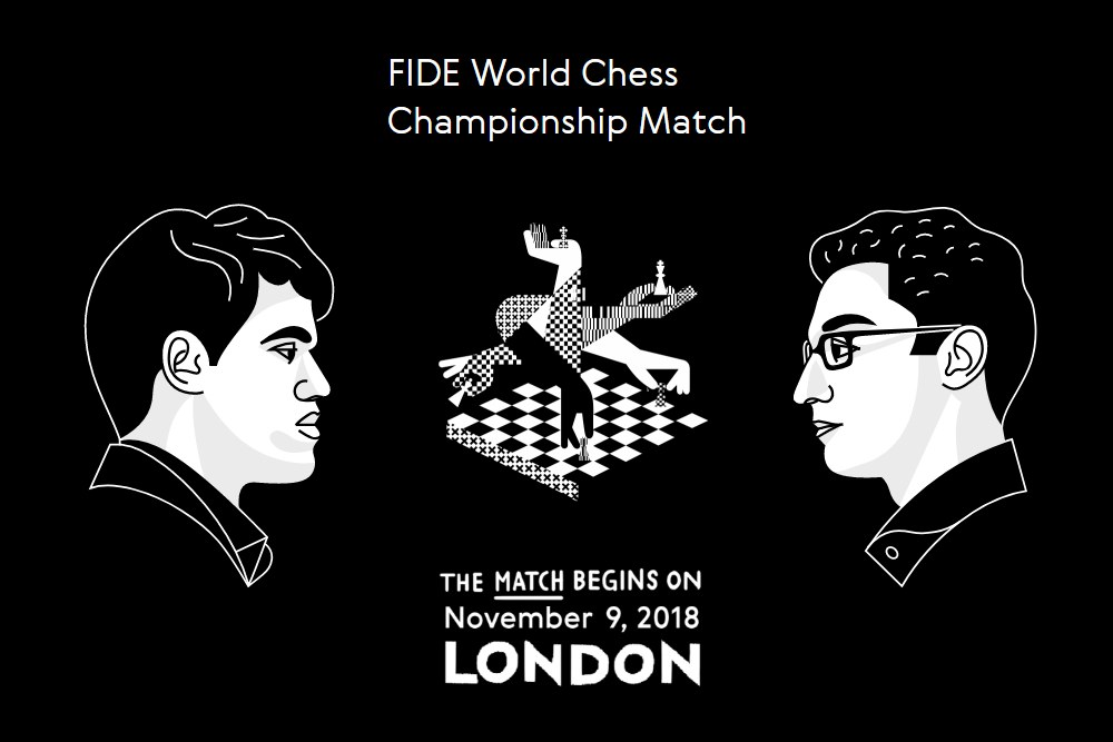 Magnus Carlsen (Norway) vs. Fabiano Caruana (USA)