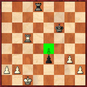 Kosteniuk-Hou, 2008 World's Women Championship, Game 2 (50...e3)