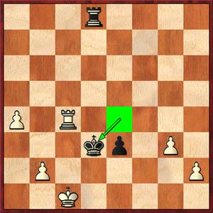 Kosteniuk-Hou, 2008 World's Women Championship, Game 2 (53...Kd3)