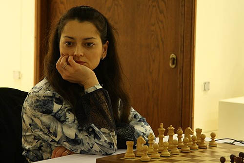 GM Alexandra Kosteniuk ready to defend title. Photo by wwcxc2010.tsf.org.tr.