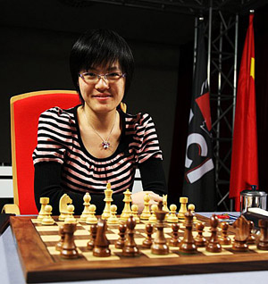 GM Hou Yifan. Photo by Anastasiya Karlovich for FIDE.