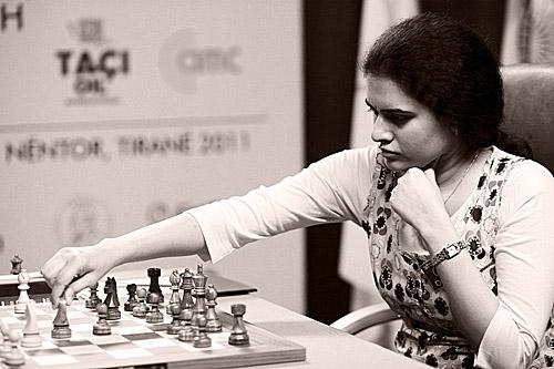 GM Koneru Humpy. Photo by Anastasiya Karlovich for FIDE.