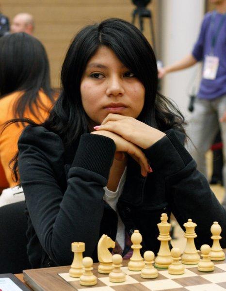 Deysi Cori of Peru