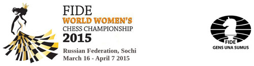 2015 Women's World Chess Championship, Sochi, Russia