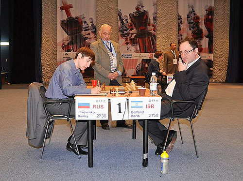 Dmitri Jakovenko vs. Boris Gelfand