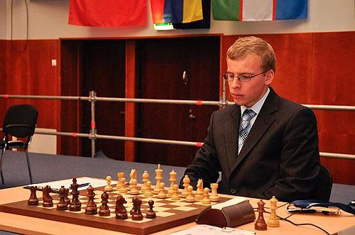 Viktor Laznicka's came nattily dressed, but was ruffled by Mamedyarov.