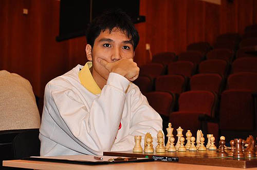 The usually affable Wesley So is all business here. He went on to topple Vassily Ivanchuk, one of the pre-tournament favorites.