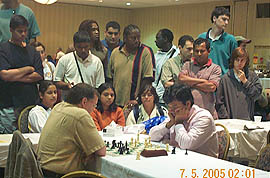 Ganguly in blitz final with GM Jaan Ehlvest