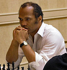 Emory Tate earned his 3rd IM norm at the 2006 World Open.