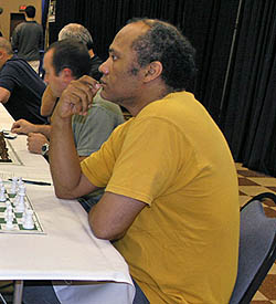 IM Emory Tate at the 2007 World Open. Photo by Daaim Shabazz.