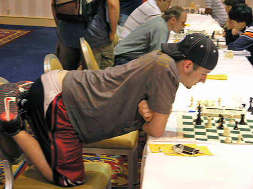 Original Chess Pose!