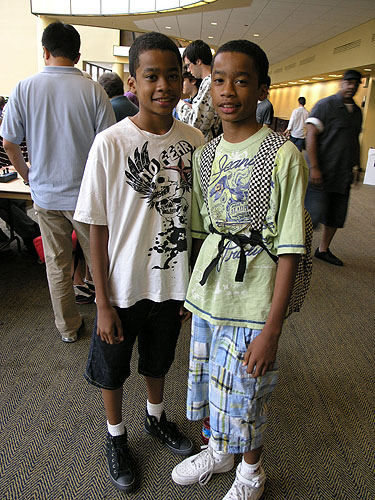 Nigel and Jehron Bryant